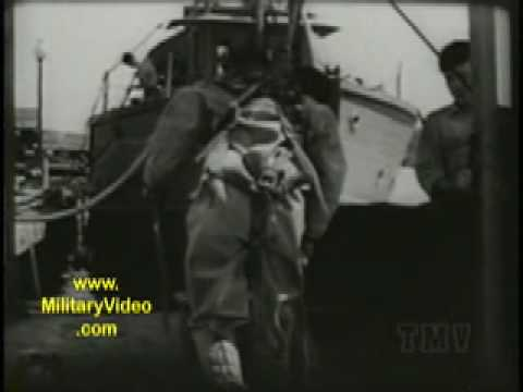 1944 Navy Diver Training Video