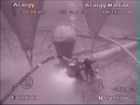 Brazilian divers on harrier air bag incident