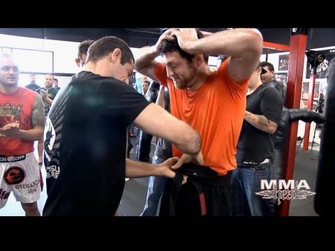 "Jason ""Mayhem"" Miller's Black Belt Ceremony at Kings MMA"