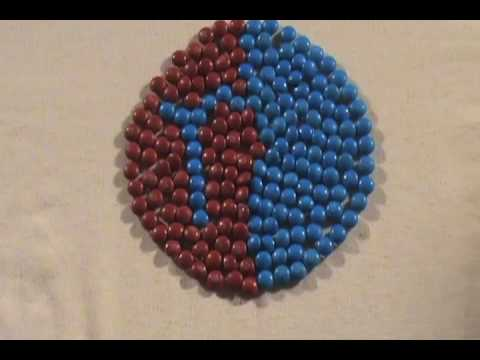 m&m's stop animation