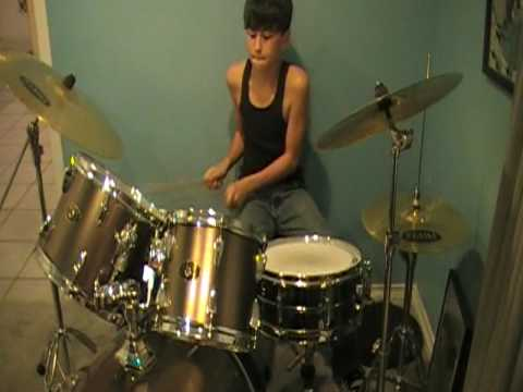 Me on the drums