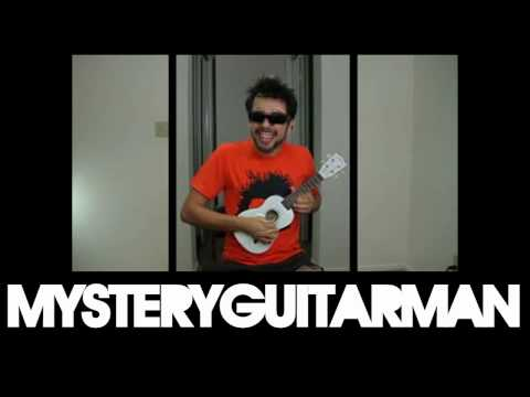 Painting MysteryGuitarMan