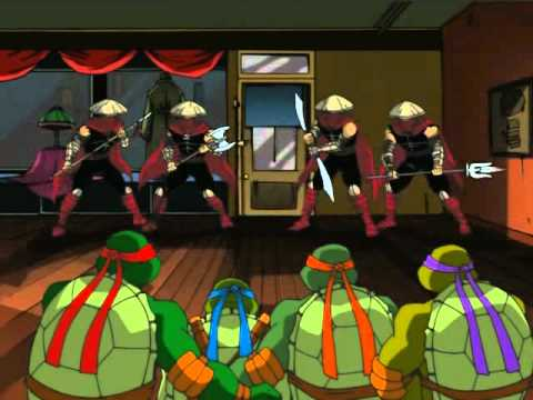 TMNT S01E18 The Shredder Strikes Back Part 2