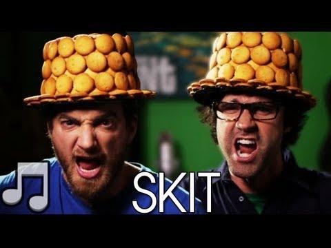 Nilla Wafer Top Hat Time Song SKIT - Rhett & Link