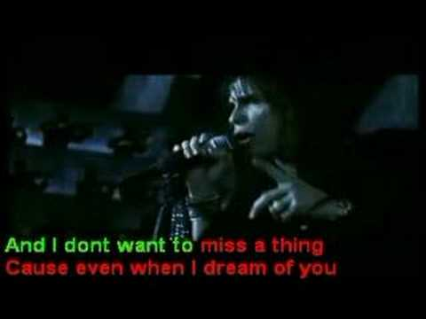 Aerosmith - I Don't Wanna Miss a Thing [killerkaraoke]