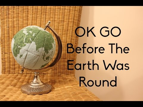 Before the Earth Was Round Time Lapse 3D Globe Cross Stitch