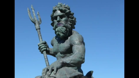 King Neptune introduces the Wheel of Mythicality