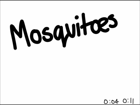 Mosquitoes suck - Rough animation