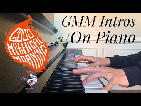 Good Mythical Morning All Intros on Piano