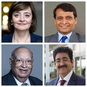 Sandeep Marwah Exchanged Ideas With Cherie Blair