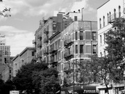 Apartment houses on the Upper West Side