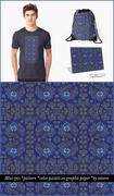Blue Eyes - pattern design