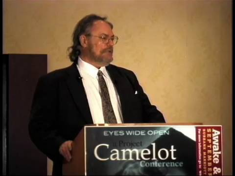 ALEX COLLIER at the Project Camelot Awake and Aware Conference, Los Angeles, Sept 2009