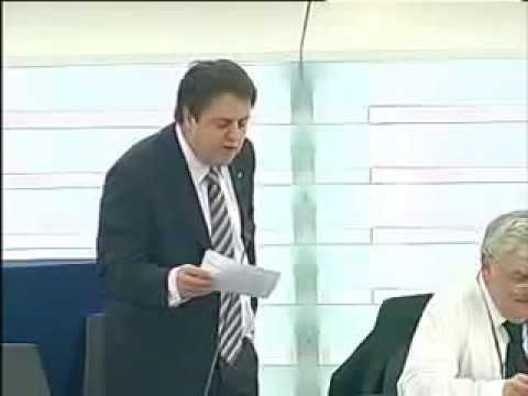 Nick Griffin tells politicians what climategate hidden agenda on the world is