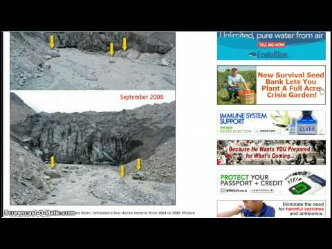 Himalayan glaciers are not melting as reported for proof of global warming