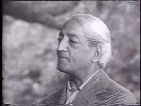 Krishnamurti - The Real Revolution - Part 1 of 2