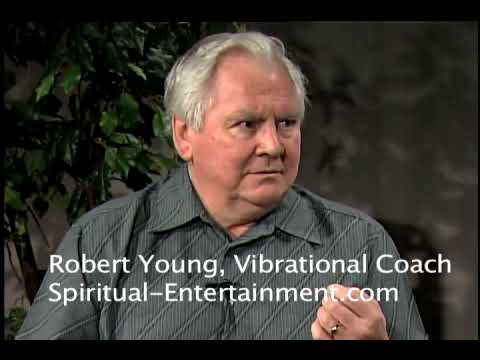 Robert Young does a healing on the program