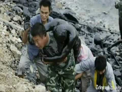 CHINA OIL SPILL DISASTER, JULY 2010