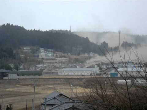 Most shocking footage from japan tsuanmi i have seen*