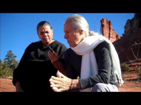 Drunvalo Melchizedek interviewed on Peace Talks with Audri Scott Williams in Sedona 1 of 3