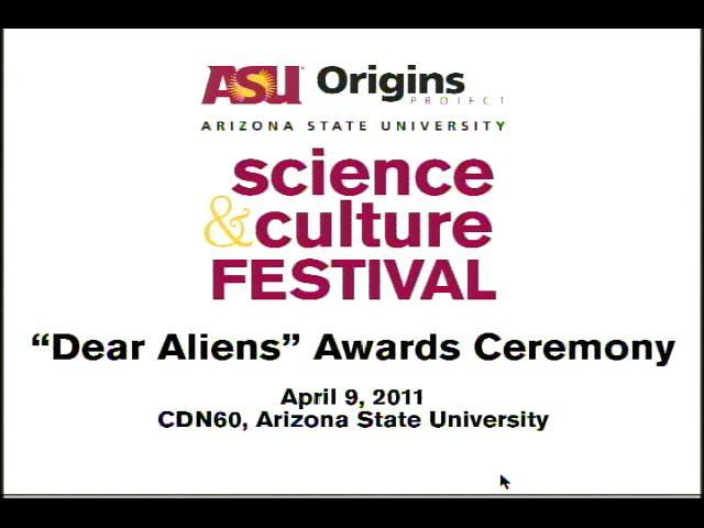 "Stephen Hawking's Daughter Organizes ""Dear Alien"""