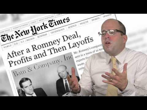 WALL STREET VETERANS FOR TRUTH: New Romney-Gekko 2012 Ad