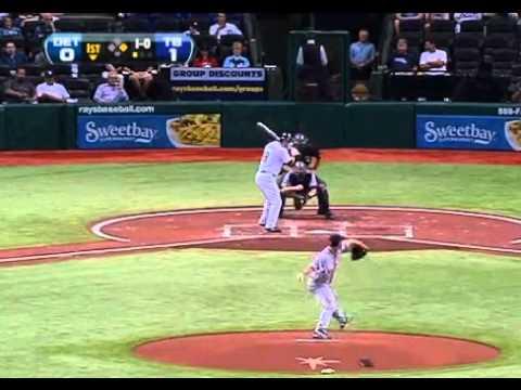 Strange Sounds Rays Baseball Game evening of Earthquake East Coast U.S.