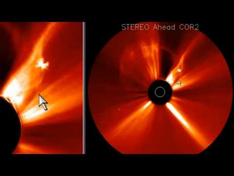 Giant UFOs and Anomalies around the Sun ~ 13 March 2012