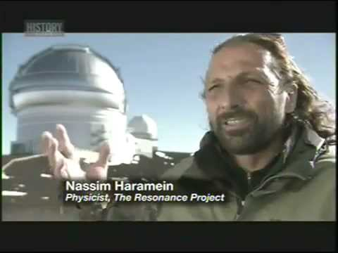 Nassim Haramein: 'Earth-sized space-ships crash into Sun [2011 © History.com]