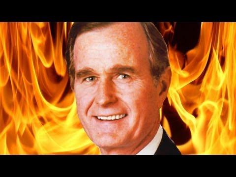 David Icke on George H.W. Bush
