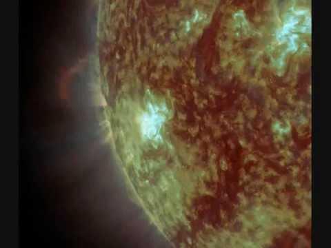 X1.8 Solar Flare - Sunspot 1598 (10/23/2012)