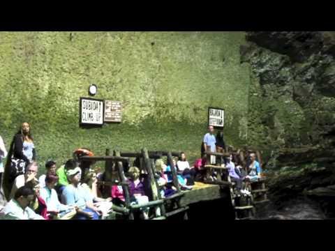 Winter Solstice 2012 in Chichen Itza at Sacred Mayan Cenote Ik Kil