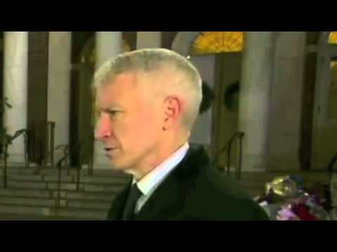 BREAKING!! Sandy Hook - Disappearing Nose Conspiracy Anderson Cooper CNN