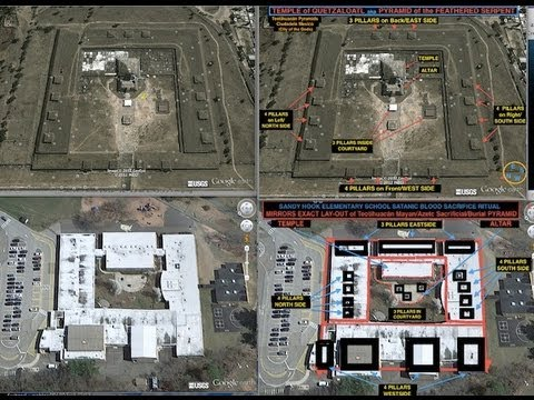 STRUCTURAL DESIGN OF SANDY HOOK CONNECTED TO SACRIFICIAL PYRAMID? THE NEW 9/11! (TRAILER)