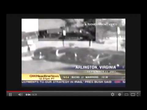 Hotel CCTV Video of 9 11 Pentagon Explosion