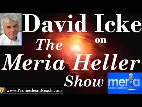 David Icke - The Meria Heller Show - 02-26-13 - Fall of The Vatican & British Royalty
