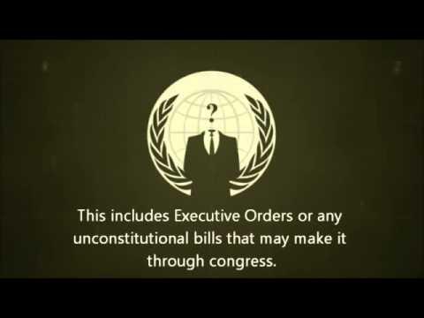 ANONYMOUS Declaration of Freedom Nov 5 2013