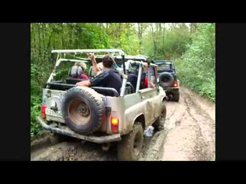 Jeeptrack to dolmens of Vedic Russia!