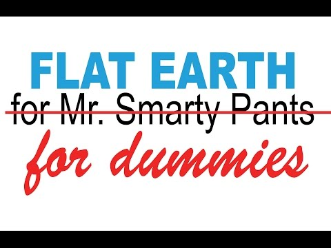 Flat Earth thing