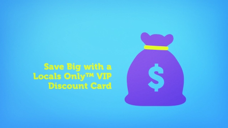 Locals Only™ VIP Discount Card Commercial