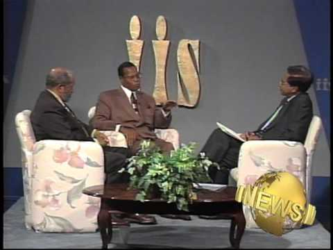 W. Deen Mohammed and Louis Farrakhan: Historic Interview Part 2