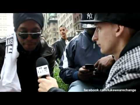 Occupy Wall Street Interview: Rapper Lupe Fiasco on Building 7.