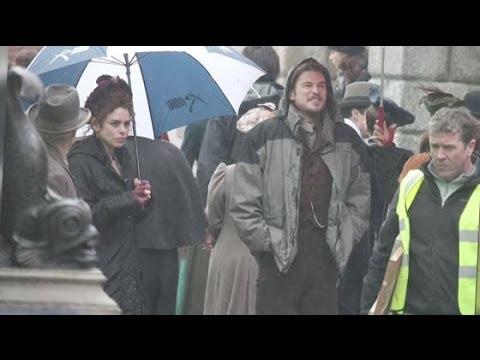 Billie Piper and Josh Hartnett FIlm Penny Dreadful in Dublin