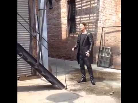 Photoshoot for Instyle Man