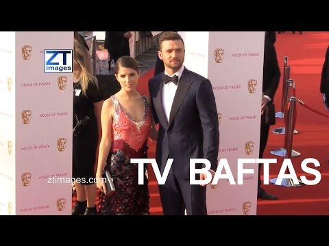 Justin Timberlake Anna Kendrick Josh Hartnett Amanda Holden Alesha Dixon Michelle Keegan BAFTAS 2016