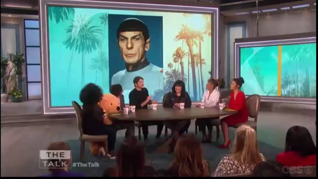 "Josh Hartnett on ""The Talk ""  February 14, 2018"