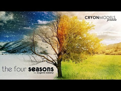 THE FOUR SEASONS - by Eugene Ladanyi at Cryonmodels makeup video part2