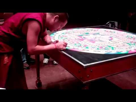 Mystical Arts of Tibet Mandala Sand Painting