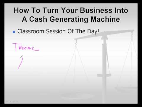 How To Turn Your Business Into A Cash Generating Machine