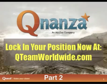 Qnanza Business Opportunity with Richard - Part 2